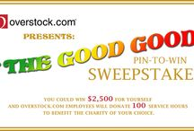The Good Good-- Overstock / by Michele Mazzarella