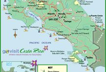 Maps/Places of Costa Rica