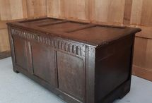 Chests, Cabinets, Cupboards, Dressers & Trunks