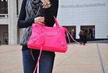handbags + accessories  / handbags, hats, gloves, scarves, belts, + more! / by Hannah Tompoles