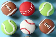 sports ball fondant