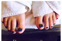 Manicures & Pedicures / Manicures & Pedicures done at The Spa on Albert