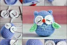 kreatív hobbi / kék bagoly
