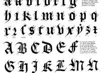 Kalligráfia Gótikus
