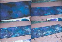 Galaxy painting Oscar