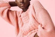 color blocking studio fashion editorial