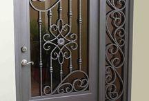 puertas hierro
