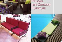 PILLOWS FOR OUTDOOR FURNITURE