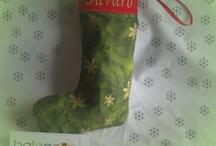 Botas,Calcetinesde Navidad / Se hacen bajo encargo. https://www.facebook.com/balancin.ropainfantil. balancin.mn@gmail.com