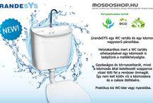 MOSDOSHOP.HU - GRANDESYS - WC tartály kézmosóval