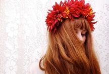 Flower Muse / flowers, headbands, wonderful photos