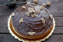 torta glassta al cioccolato