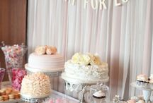 Desert / Cupcake Wedding Table / Love is sweet....