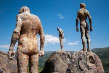 Arte: esculturas y pinturas