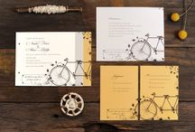 WEDDING INVITATIONS BIKE
