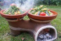 kerti sütők