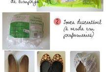 Organização sapatos