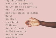 Black Owned Makeup Brands / B.O.M.B