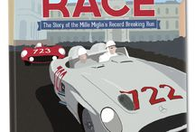 The Greatest Race / Work in progress for my new book The Greatest Race with Sir Stirling Moss. The story of his record-breaking win of Italy's great race the Mille Miglia. www.CarpeViamProductions.com