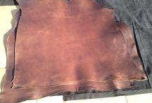Leather stock / Our company works in the sector of scraps and stock lot of leather we sell in all world.
