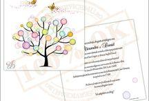 Invitatii de Nunta / Invitatii deosebite, personalizate, realizate pe cartoane speciale din gama premium.. Intra sa vezi !