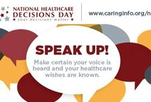 National Healthcare Decisions Day / Every year on April 16th, National Healthcare Decisions Day exists to inspire, educate & empower the public & providers about advance care planning and the importance of medical directives.
