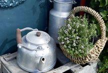 Blumen-Dekoration / Deko-Ideen mit Blumen & Pflanzen für Tisch und Wohnung