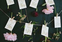 Wedding Name cards