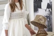 comunión / vestidos y adornos