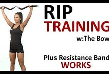 RIP Trainer / RIP Training using The Bow or TRX Rip Trainer for 40mins is sure to get the heart rate active in high intensity resistance format.You can also visit our blog at http://thebodybow.com/