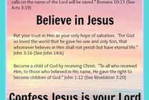 God, faith, love, hope