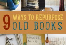 reuse old books / by Connie Timms