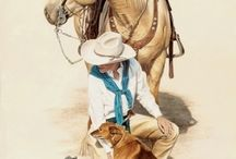 WESTERN ART - RODEO ART / Western pictures. Western posters, prints and canvas.  Western art. Cowboys, cowgirls, rodeo, horses, western scenes. Western wall art.