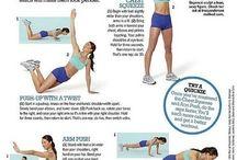workouts / by Hannah Pasco-Ornelas