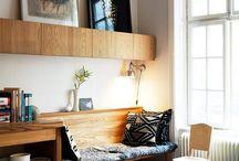 Petits espaces dans la maison / La décoration intérieur des petits espaces dans la maison