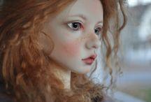 Art dolls referensfoton