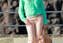 "Fashion&Style: Aquamarine/mint looks / by ""Outfit Ideas, by Chicisimo"" Fashion iPhone App"
