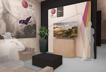 OMA | Architecture | LG Roadshow | Italy 2013 / The design for this LG roadshow combines the sophistication and elegance of a minial hi-tech environment with a contemporary interior design.