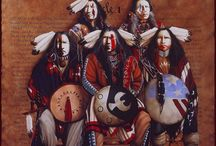 Allen's Cherokee Heritage / I myself have Cherokee blood , this pays tribute to not only my Cherokee progenitors , but to all things American Indian . I say American Indian because all who were born in the Americas are Native American ! / by Allen Curtis Meissner