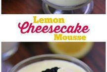 lemon cheese cake mousse
