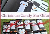 Christmas gift candy