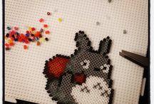 Hama beads Totoro / Pyssel