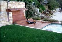Arquitetura - Área externa com Piscina/Ofurô