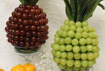 Decoraçao com frutas