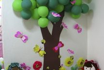Classroom Ideas for Church / Fun ideas to create bulletin boards for kids church.  / by Jennifer Sikora