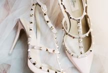 One Shoe Can Change Your Life / Couple's always looks flawless from head to toe, including their wedding shoes. From real designer heels to chic flats, get inspired by these beautiful styles for your big day.