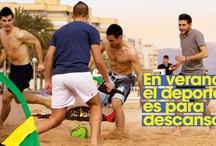 En verano, el deporte es para descansar / Lo mejor del deporte en #verano, para disfrutar y descansar.  ¿Quieres verlo todo? http://bit.ly/11YjZCr