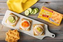 Cream Crackers με κριθάρι, βρώμη και β-γλυκάνη: Έξυπνες και γρήγορες προτάσεις