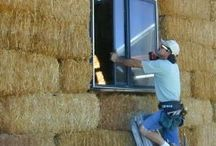 Straw bale houses