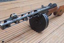 Russian guns ww2